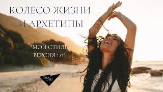 Колесо жизни и архетипы Инструменты личного развития и баланса от Nina Chili