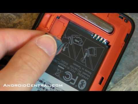 How to swap the Sprint HTC Evo 4G microSD card