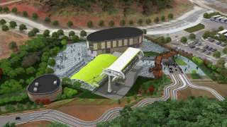 Skyline Luge Tongyeong 3D Animation