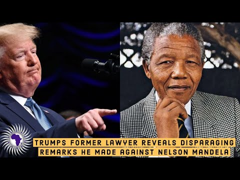 Donald Trump Allegedly Made Disparaging Remarks About Former South African President Nelson Mandela