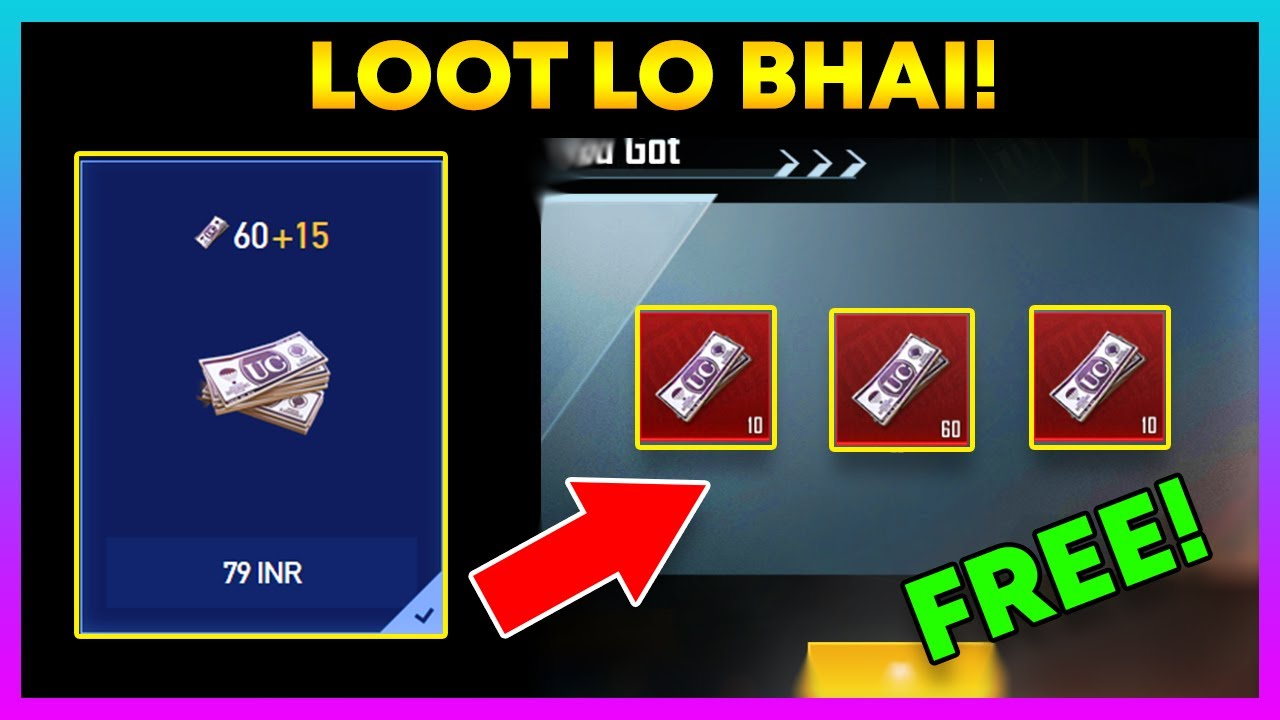 Hurry Up! || Free Uc Event is Back! || Pubg Mobile April Bonanza Event (Hindi)