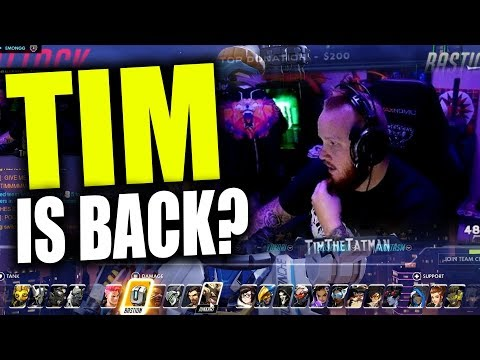 Timthetatman IS BACK? (First Placement Game)