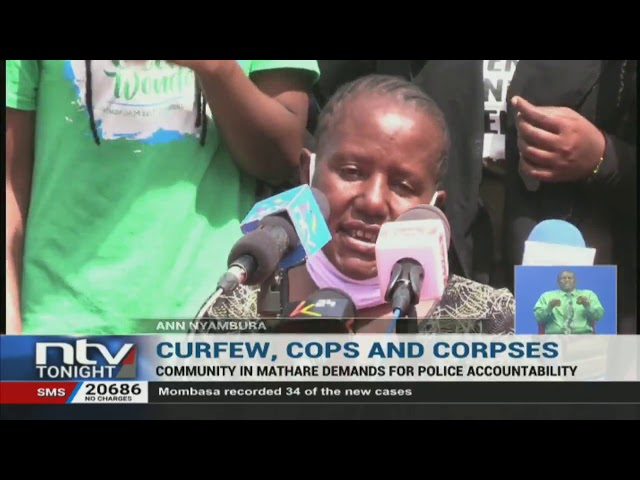 Mathare residents call for police to be held accountable for excessive violence