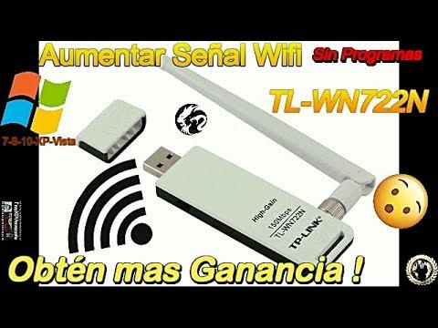 Como Obtener mas Ganancia de la Antena Tp-Link●TL- WN722N●Aumenta Tu Señal Wifi●ᴴᴰ