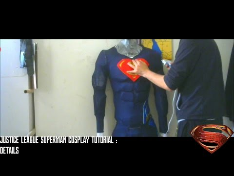 Justice League Superman Cosplay Tutorial : Adding Details