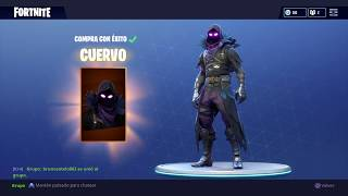 FORTNITE : Buying the new LEGENDARY Raven Skin! Best of all?