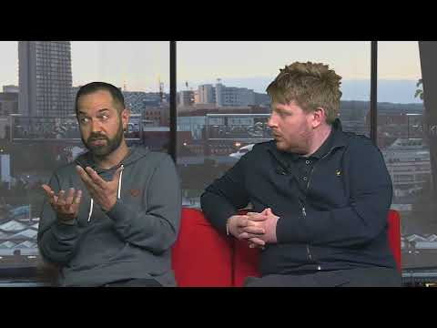 Sheffield Live TV Daniel Gordon & Danny Hall 29.3.18 Part 1