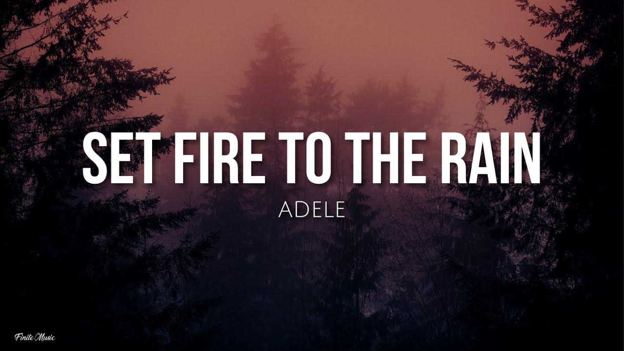 Download Set fire to the rain (lyrics) - Adele [English - Spanish]