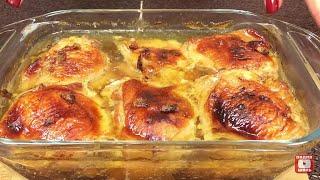 Очень вкусные бедрышки простой рецепт