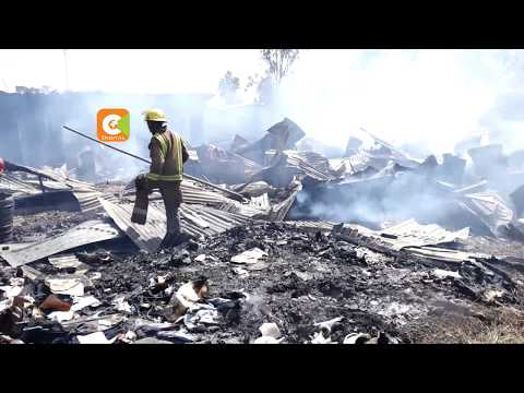 Fire destroys houses at Central Police