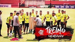 Treino do Flamengo - 10/01/2020