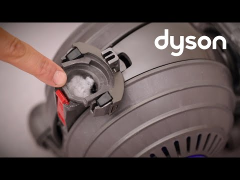 Dyson Small Ball upright vacuum - Checking the cleaner head and base for blockages UK