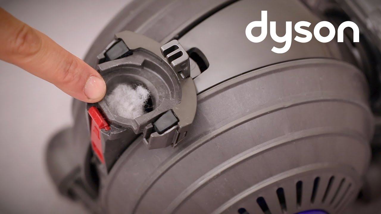 Dyson Small Ball Upright Vacuum Checking The Cleaner