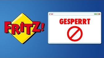 FritzBox: Webseiten sperren [Deutsch/German]
