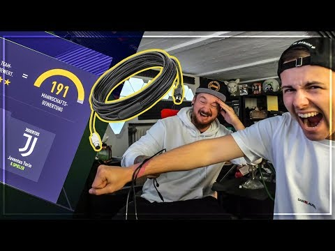 190 oder AUFLADEKABEL 😱 | FIFA 18 FUT DRAFT CHALLENGE vs Gamerbrother
