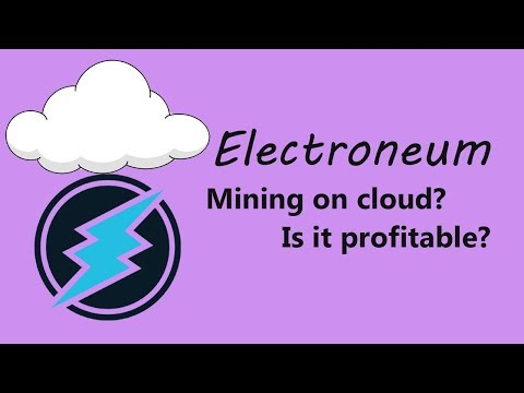 How To Mine Electroneum On Cloud (Microsoft Azure)?