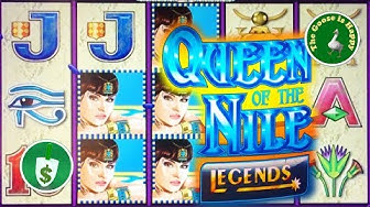 😄 Queen of the Nile Legends slot machine, nice surprise