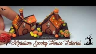 Miniature Spooky House Tutorial-Polymer Clay
