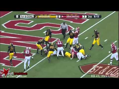 Alex Collins vs. Missouri (11/27/2015)