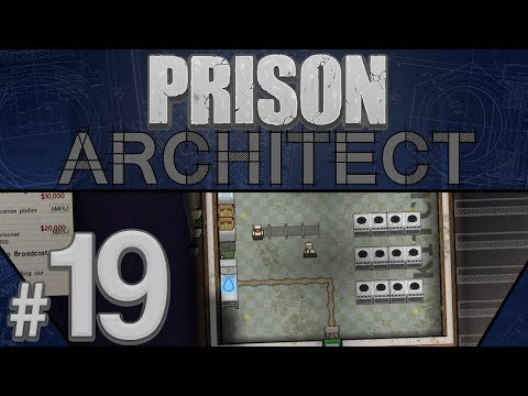 Prison Architect - Super Kitchen 5000 - PART #19