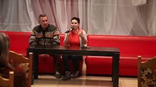 Театральные советы Александра и Анжелики Аверковых на встрече с солигорскими зрителями