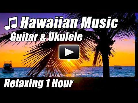 HAWAIIAN MUSIC Relaxing Guitar Ukulele Tropical Songs Hawaii Relax Study Happy Hour Instrumental Mix