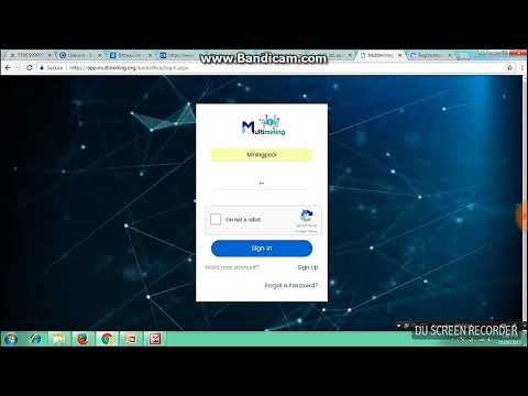Multimining Pool How to Register and Activate Acount /Start Bitcoin Mining from Home -in Hindi