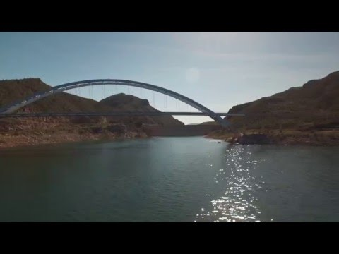 Theodore Roosevelt Lake Drone Flight - Arizona