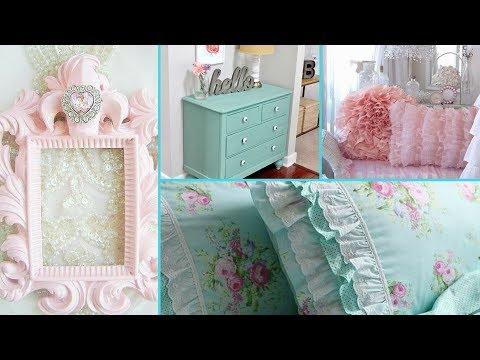 ❤❤diy-shabby-chic-style-tween-girl-bedroom-decor-ideas -home-decor-&-interior-design -flamingo-mango