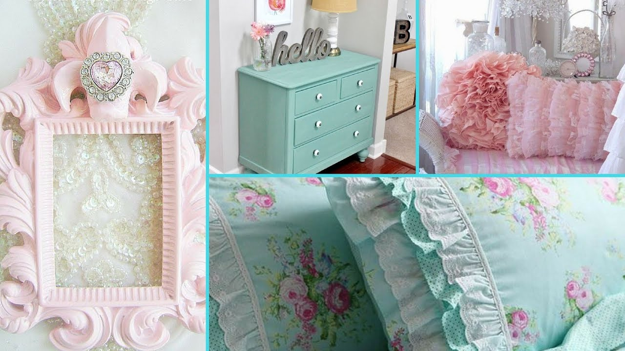 Diy shabby chic style tween girl bedroom decor ideas home - Little girls shabby chic bedroom ...