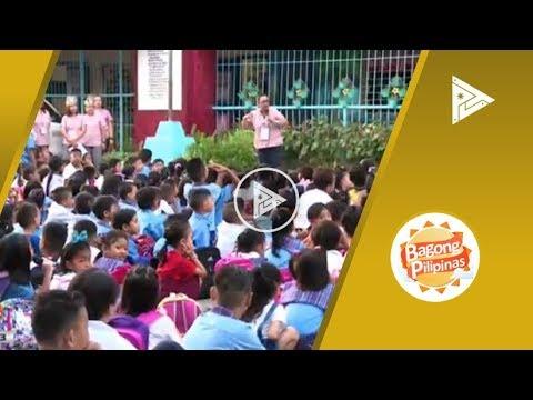 Updates sa Mines Elementary School kaugnay ng pagbubukas ng klase
