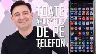TOATE APLICATIILE DE PE TELEFONUL MEU