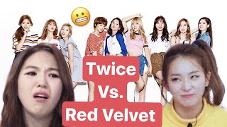 Which TWICE Member Resembles the RED VELVET Member? - Stafaband