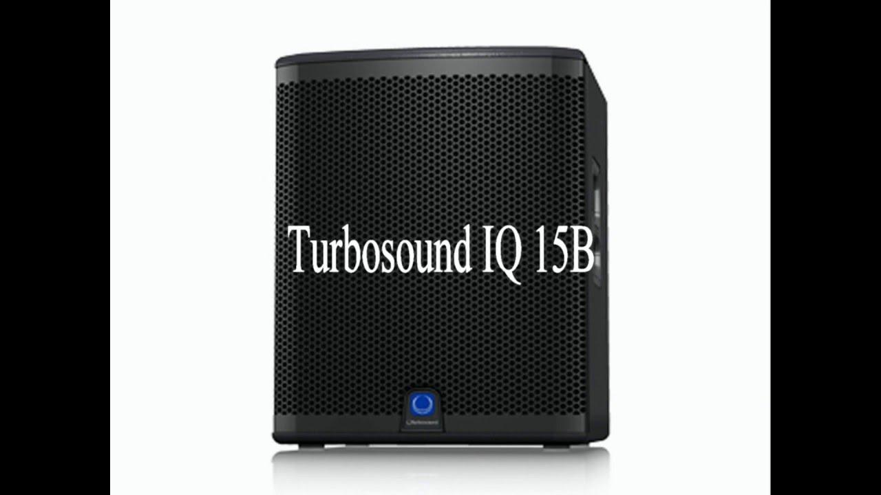 Turbosound IQ 15B unboxing