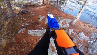 Nerf War First Person Shooter: The Care Package   Quaen Channel