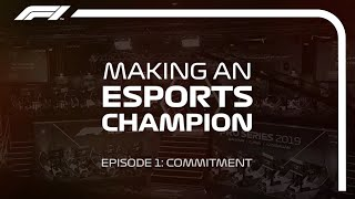 F1 Esports: The Making Of A Champion Episode 1 | New Balance