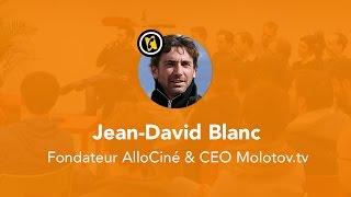 Le Wagon Paris - AperoTalk avec Jean-David Blanc fondateur AlloCiné et CEO Molotov.tv Top 10 Video