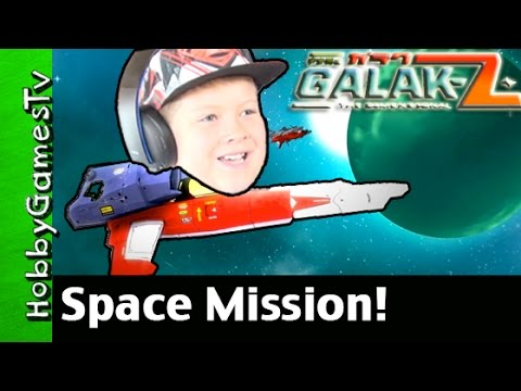 Galak-Z The Dimensional Space Mission! PS4 Gameplay by HobbyGamesTV