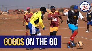 WATCH From The Couch To The Soccer Pitch Football Gives Soweto Gogos New Lease On Life