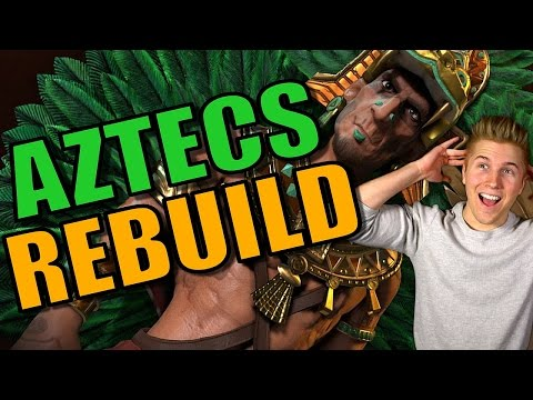 REBUILDING!! | Civilization 6: Aztec Gameplay [Civ 6 Let's P