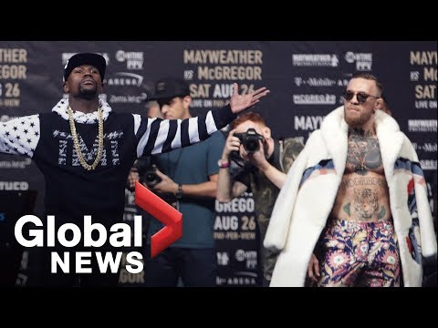 Thumbnail: Floyd Mayweather vs. Conor McGregor World Tour: Showdown in New York Full Press Conference