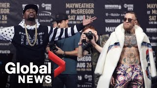 Floyd Mayweather vs. Conor McGregor World Tour: Showdown in New York Full Press Conference thumbnail