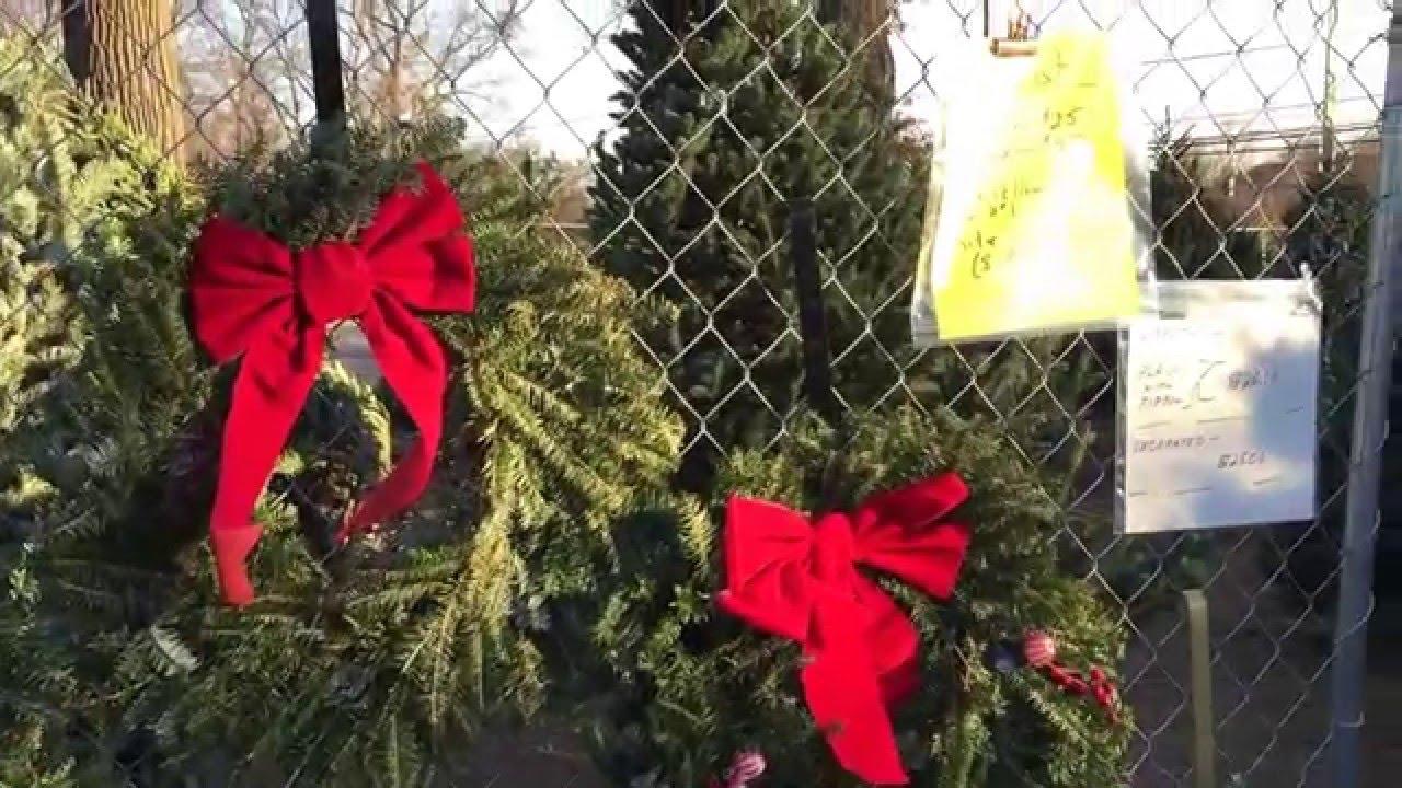 Sandy Spring Lions Club Christmas Tree Sale 2015