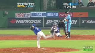 오승환 vs 이대호 2011.05.25