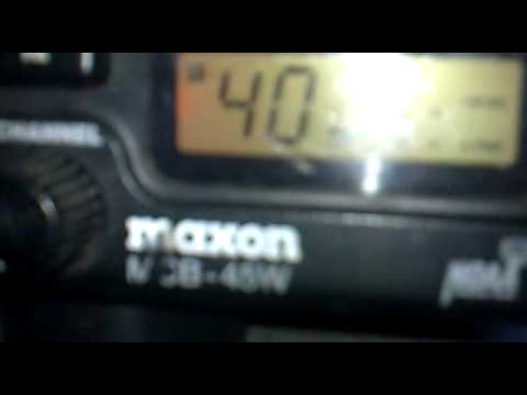 How to Expand 80 more channels on a Maxon MCB-45W cb radio. - YouTube