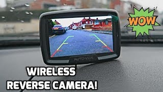 AutoVox Wireless Reverse Camera!