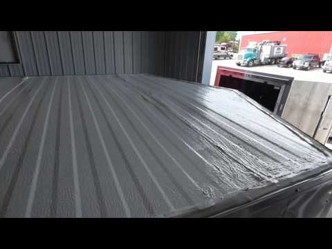 How to quickly paint your enclosed cargo trailer's roof.