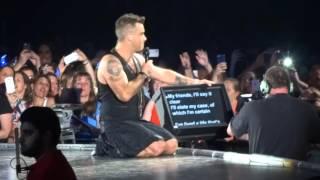 Robbie Williams My Way 23 10 15 Melbourne HD