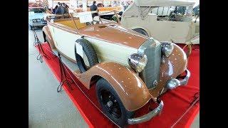 """выставка старинных автомобилей - """"Олдтаймер-2018"""", часть 1."""