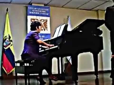 """""""Panis Angelicus""""-Carlos Villavicencio-tenor-Elina Manzano-Konzertmeister"""